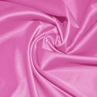 Стрейч атлас ярко розовый
