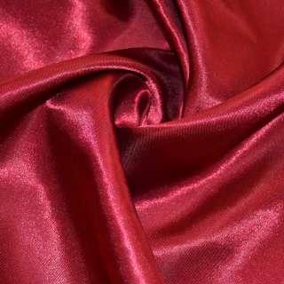 Атлас вишневый ш.150