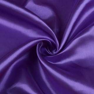 Атлас светло фиолетовый ш.150