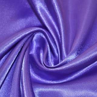 Атлас фіолетово молочний ш.150