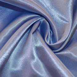 Атлас фиолетово-голубой ш.150