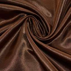 Атлас шоколадный ш.150