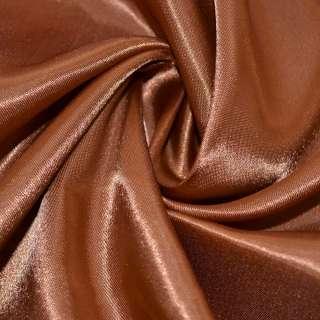 Атлас коричнево рудий ш.150