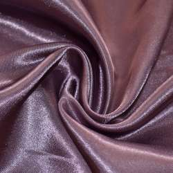 Атлас фиолетово серый ш.150