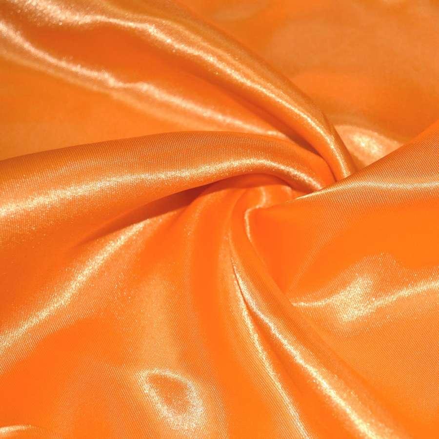 Атлас ярко-оранжевый ш.150