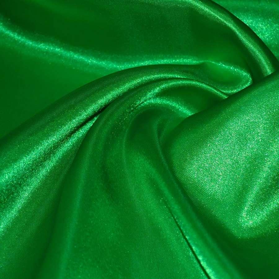 Атлас ярко зеленый ш.150