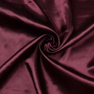 Атлас вишневый темный ш.150