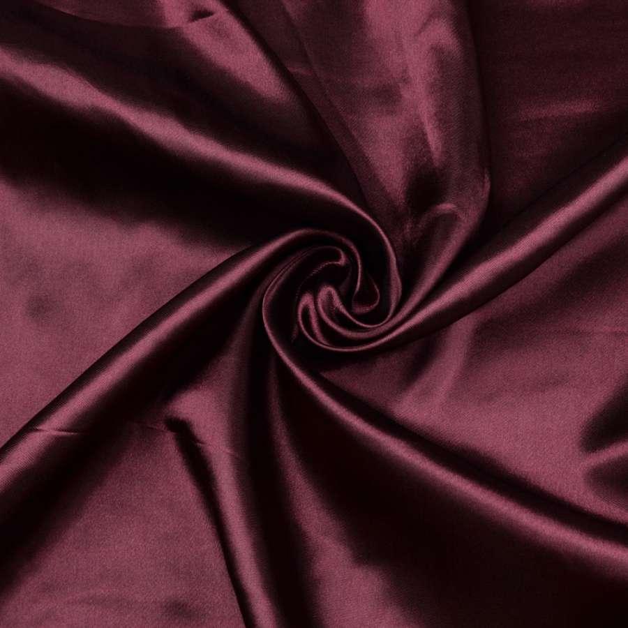Атлас темно вишневый ш.150