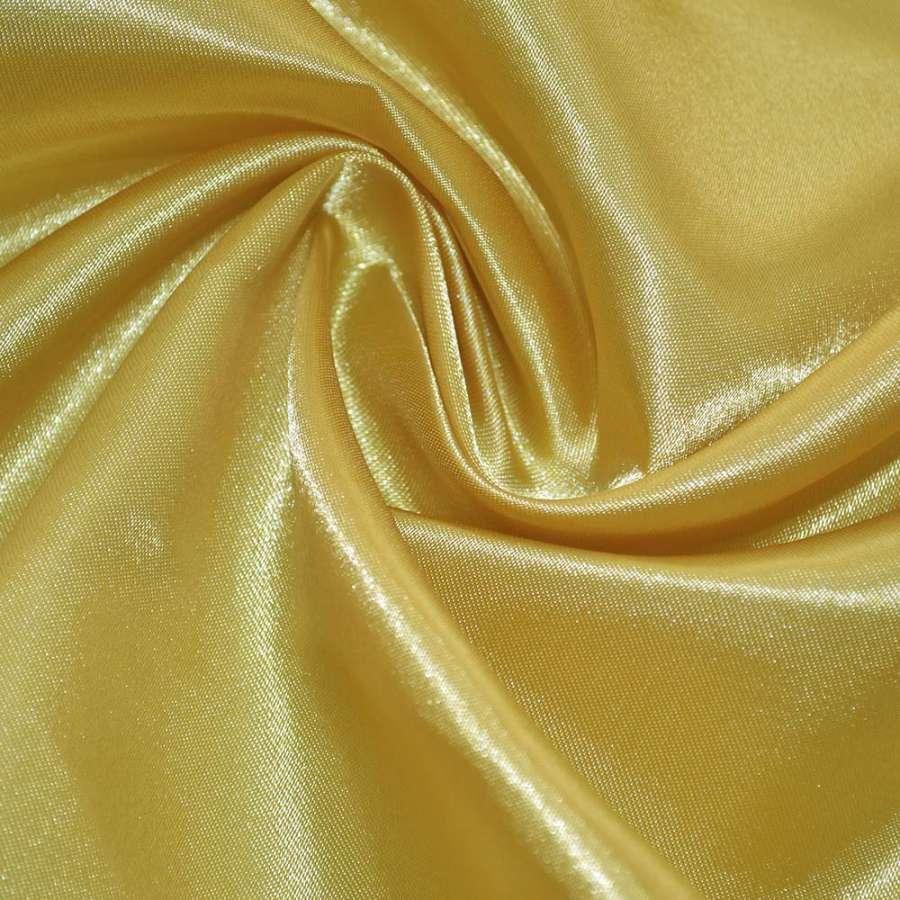 Атлас желто-золотистый ш.150