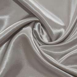 Атлас серый светлый ш.150