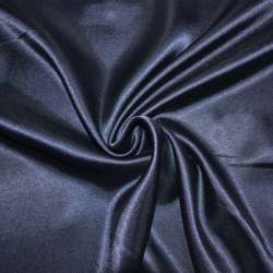 Атлас синий темный ш.150