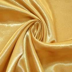 Атлас желтый светлый ш.145