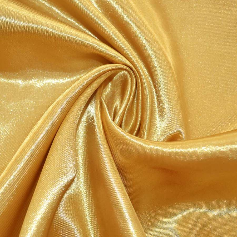 Атлас светло желтый ш.145