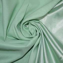 Атлас стрейч хамелеон зелений ш.150
