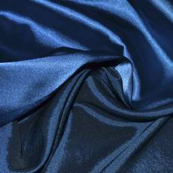 Атлас стрейч хамелеон синий электрик ш.150