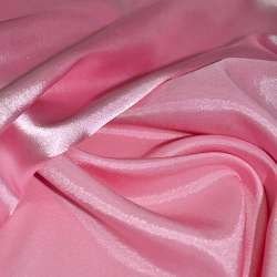 Атлас стрейч хамелеон рожевий ш.150