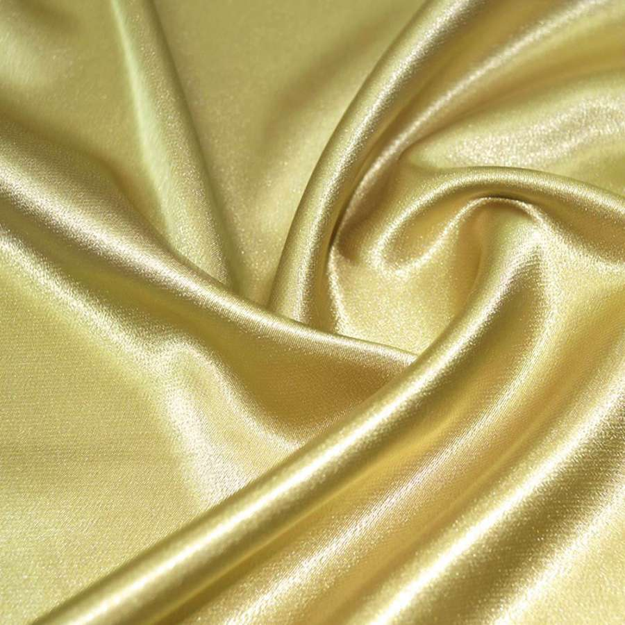 Стрейч атлас шамус желто серый ш.150
