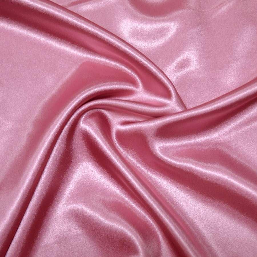 Стрейч атлас шамус розово сиреневый ш.150