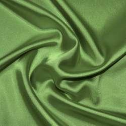 Атлас стрейч шамус зеленый светлый ш.150