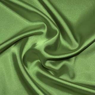 Стрейч атлас шамус зеленый светлый ш.150