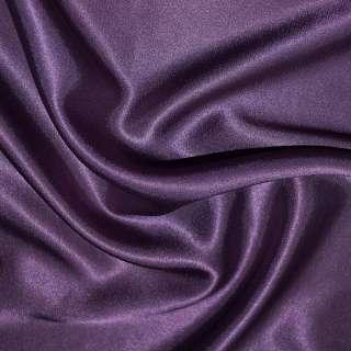 Атлас стрейч шамус фиолетово-перламутровый ш.150