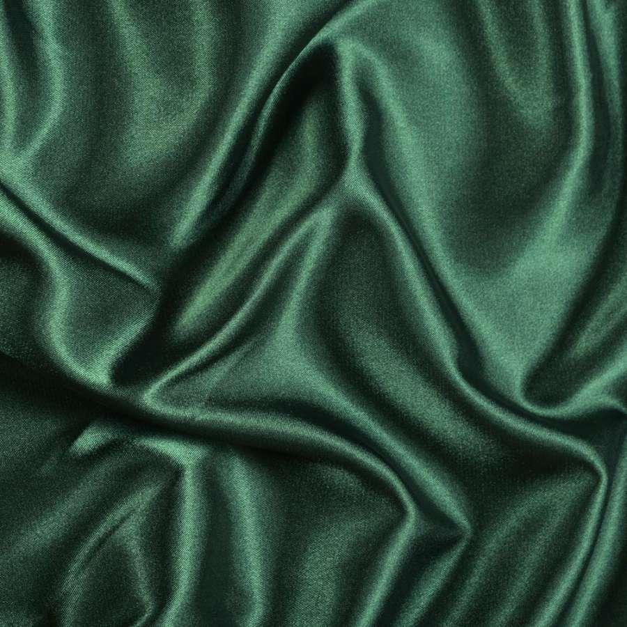 Атлас стрейч шамус зеленый темный ш.150