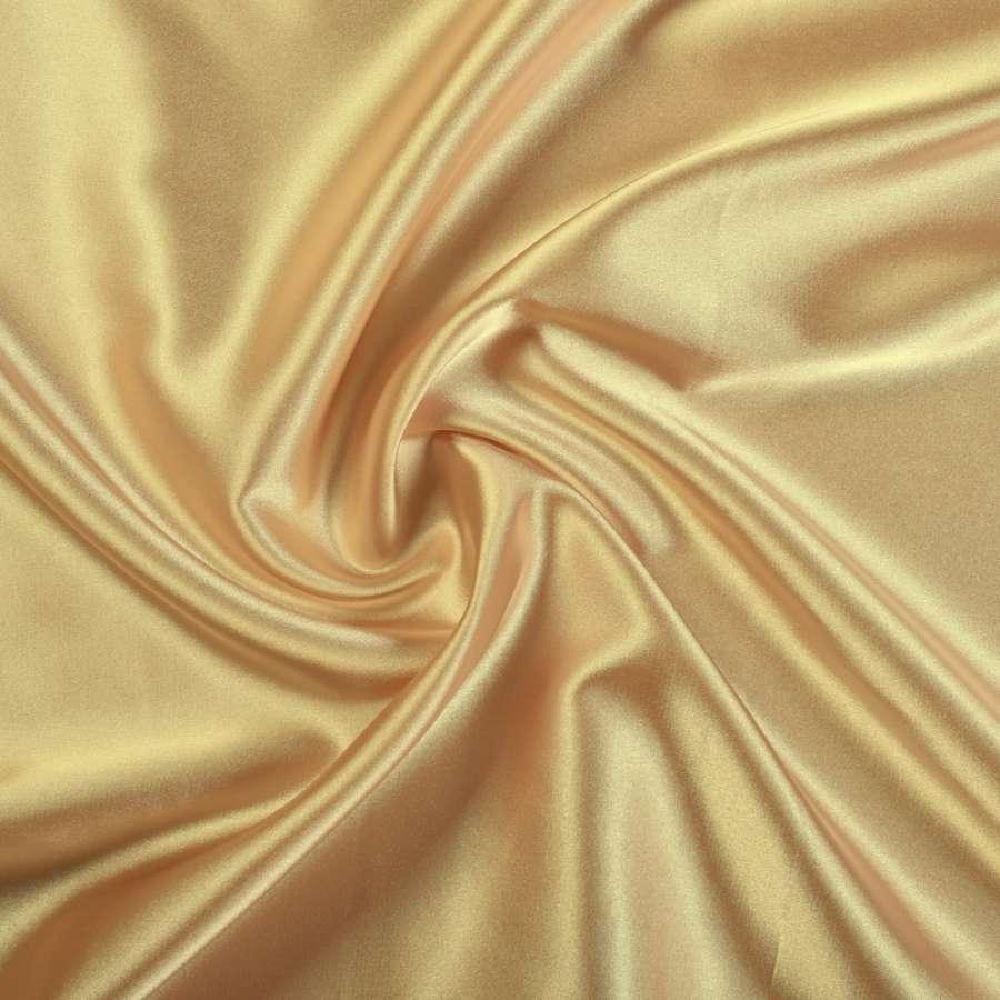 Стрейч атлас шамус золотистый ш.150