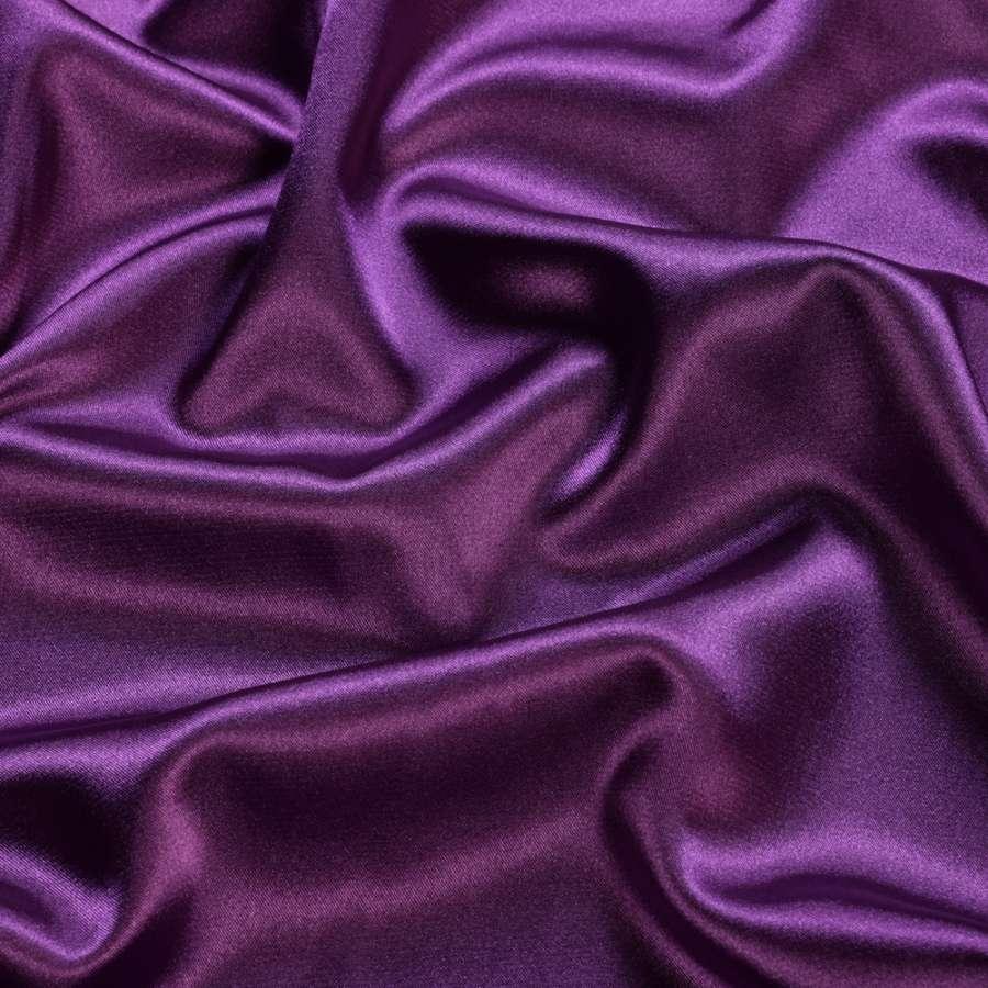 Стрейч атлас шамус светло фиолетовый ш.150