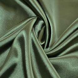 Атлас стрейч шамус темно-зеленый пл.130 г/м ш.150