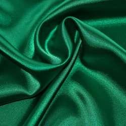 Атлас стрейч шамус зеленый пл.130 г/м ш.150
