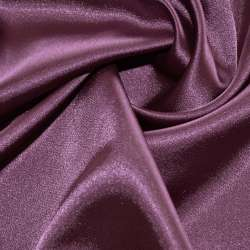 Атлас стрейч шамус темно-сиреневый перламутр пл.130 г/м ш.150
