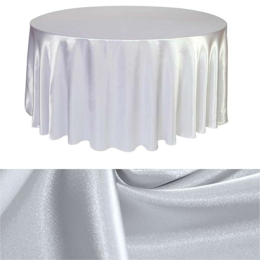Атлас стрейч шамус молочно-сірий пл.130 г/м ш.150