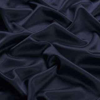 Шовк японський стрейч синій темний ш.150