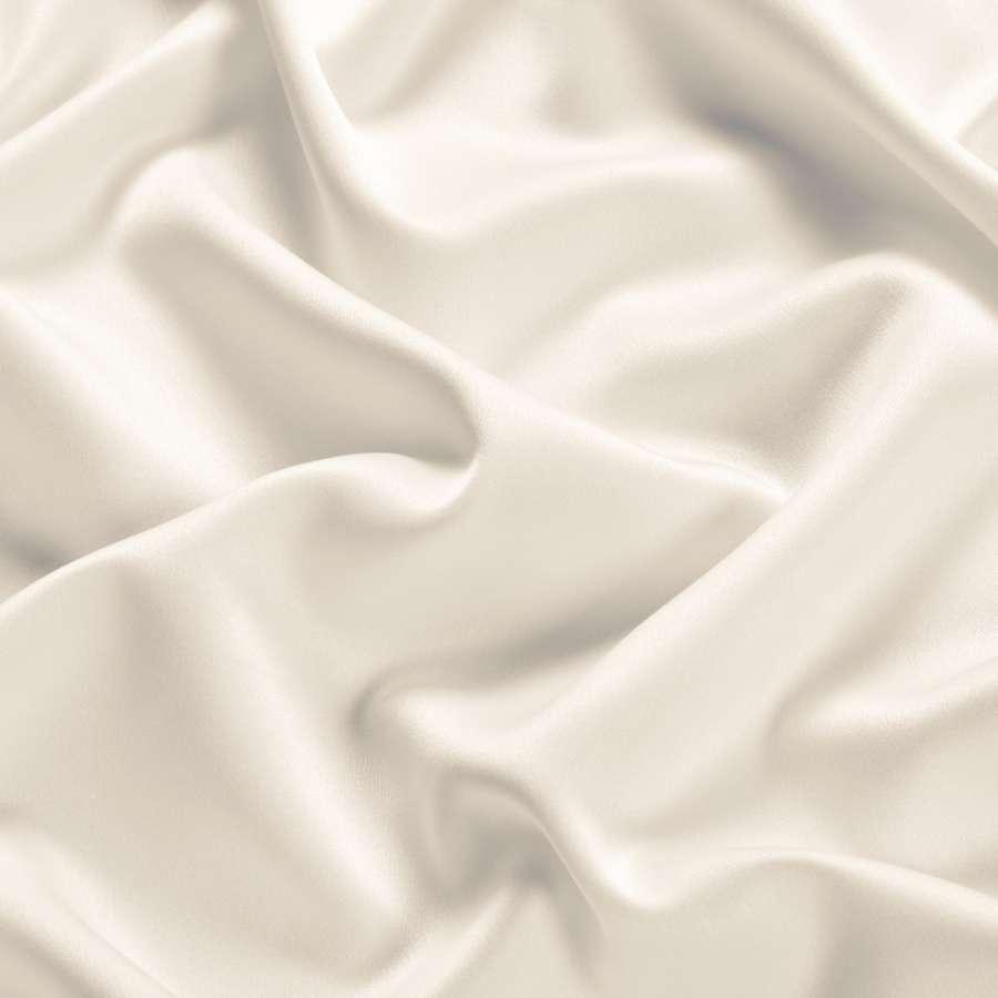Шелк японский стрейч молочный ш.150