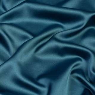 Шелк японский стрейч сине зеленый ш.150
