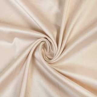 Шовк японський стрейч молочно-бежевий ш.150