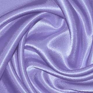 Креп сатин фіолетово бузковий ш.150