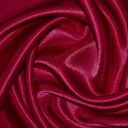 Креп сатин вишневий ш.150