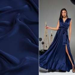 Шелк японский синий ш.150