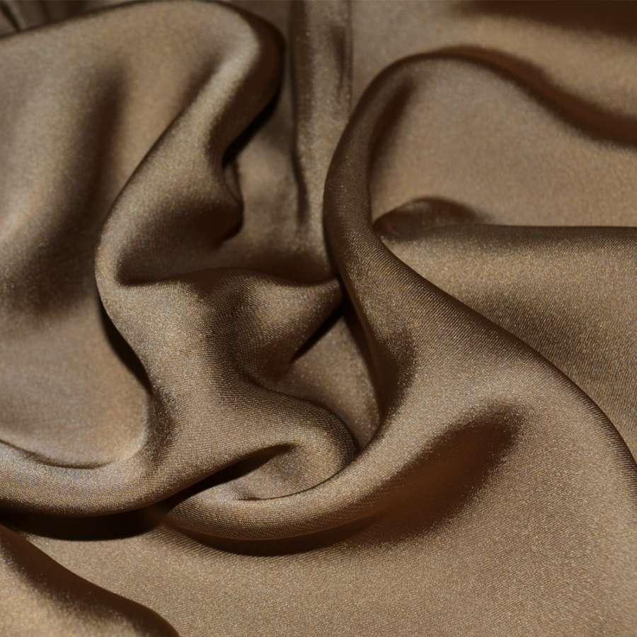 Шелк японский светло коричневый (оттенок темнее) ш.150