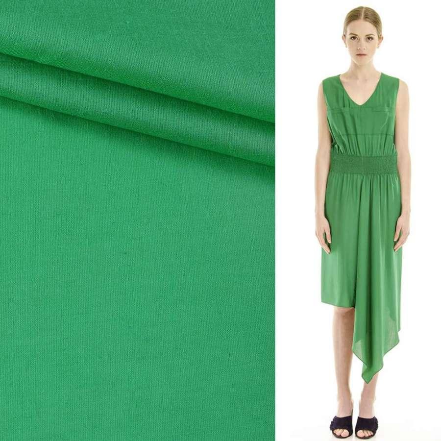 Батист зеленый ш.145