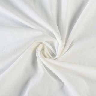 Батист стрейч молочный, ш.130