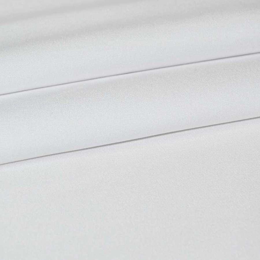 Креп костюмный бистрейч белый ш.150