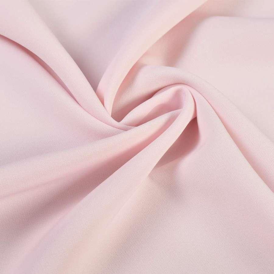 Креп костюмный бистрейч розовый ш.150