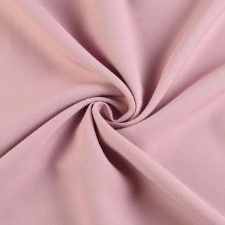Креп костюмный бистрейч фрез (розово-серый) ш.150