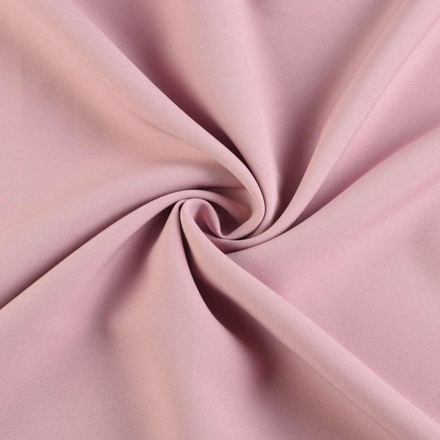 Креп костюмний бістрейч фрез (рожево-сірий) ш.150