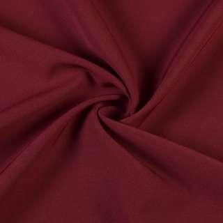 Креп костюмный бистрейч бордовый ш.150