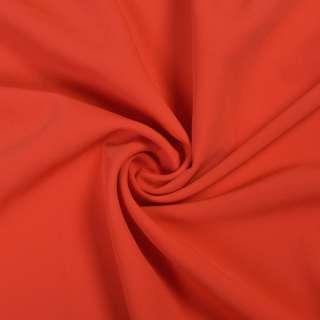 Креп костюмний бістрейч червоний ш.150
