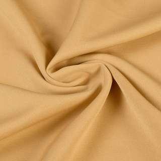Креп костюмный бистрейч карамель ш.150