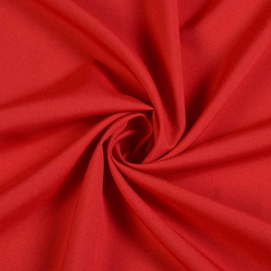 ткань костюмная бистрейч облегчен. темно-красная ш.150